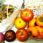 【家計簿中間報告】実家から大量の物資が届く!新鮮とれたて野菜・果物・お菓子がたくさんで食費が助かります。冬に向けての買ったもの、いろいろ♪