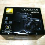 【節約主婦のお買いもの】Nikonのコンパクトカメラ「COOLPIX(クールピクス)A900 」ブラックを買いました!これで運動会もおゆうぎ会もバッチリです。
